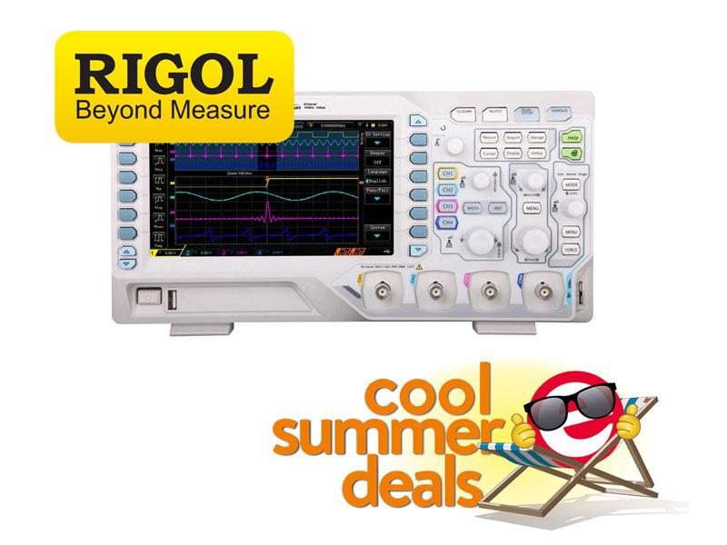 Les instruments RIGOL à prix hilarant chez Elektor