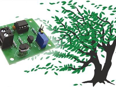 Projet nº 55 : anémomètre sans mécanique de l'électronique pure
