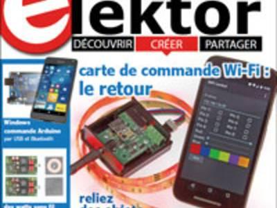 Nouveau numéro d'Elektor (nov. 2016) : c'est du joli !
