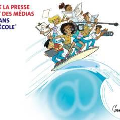 Dessin réalisé par Chaunu, dessinateur de presse.