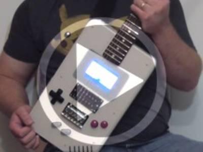 Elektor.TV | Gameboy + RPI = Guitar Boy