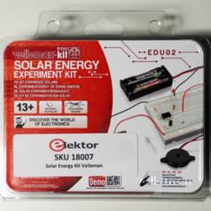 Kit d'expérimentation sur l'énergie solaire
