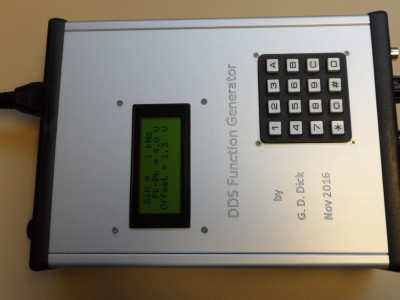 AM DDS Function Generator