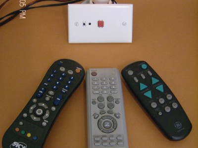 IR Remote Control Learning Dimmer or Heat Control [140279-I]