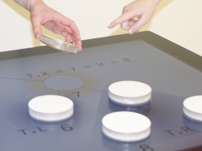 Tabula: Trackable Tangibles on Multi-Touch Displays [160123]